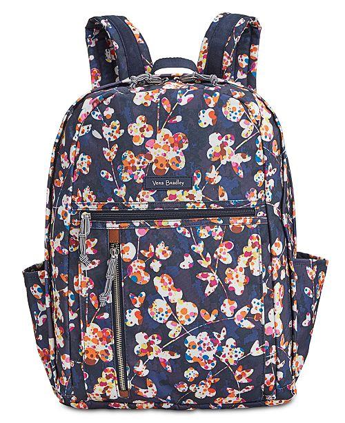 Vera Bradley Lighten Up Grand Backpack - Handbags   Accessories - Macy s ef043db3fb