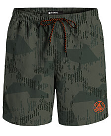 "Element Men's Arrowrock Printed Poplin 10"" Hybrid Shorts"