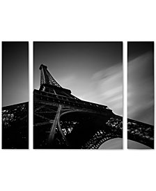 Moises Levy 'Eiffel I' Large Multi-Panel Wall Art Set