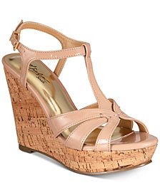 Thalia Sodi Valerrina Platform Wedge Sandals, Created for Macy's