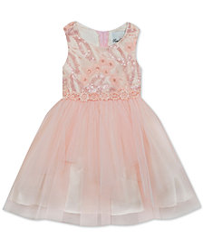 Rare Editions Little Girls Sequin Ballerina Dress