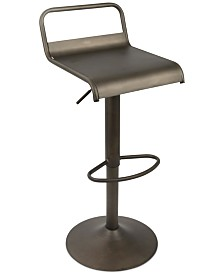 Emery Adjustable Bar Stool