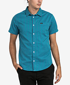 RVCA Men's Delivery Plaid Pocket Shirt