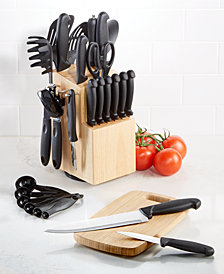 Martha Stewart Essentials 30-Piece Cutlery Set, Created for Macy's