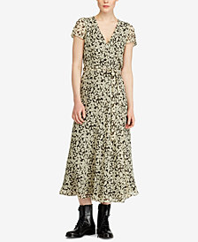 Polo Ralph Lauren Floral-Print Wrap Dress