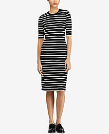 Polo Ralph Lauren Striped Sweater Dress