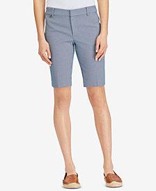 Lauren Ralph Lauren Stretch Seersucker Shorts