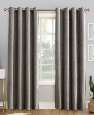 "Sun Zero Reign 52"" x 84"" Theater Grade Extreme Blackout Grommet Curtain Panel"