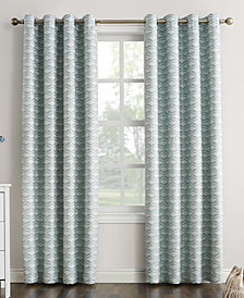 "Sun Zero Raleigh 52"" x 84"" Theater Grade Extreme Blackout Grommet Curtain Panel"