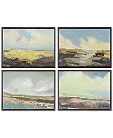 Ren Wil Argyle 4-Pc. Painting, Quick Ship