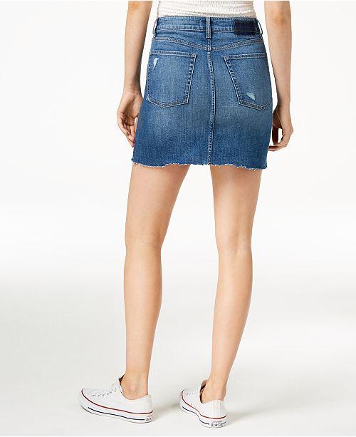 d99bc0ea7b M1858 Emery Denim Skirt, Created for Macy's & Reviews - Skirts ...