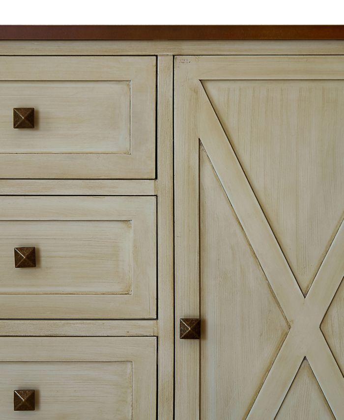 Gallerie Décor Channe 2-Door Cabinet & Reviews - Furniture - Macy's