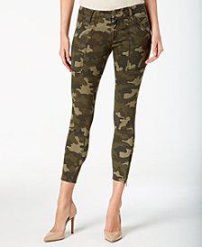Kut from the Kloth Camo-Print Skinny Jeans