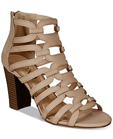 XOXO Bloomington Caged Dress Sandals