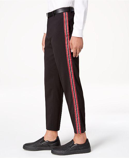 2019 Men Jeans Pants Fashion Side Stripe Casual Pant Men