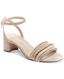 Nanette Lepore Darla Fringed Dress Sandals