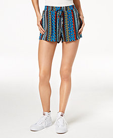 Be Bop Juniors' Soft Geo-Print Shorts