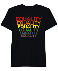 Hybrid Men's PRIDE Equality Graphic T-Shirt