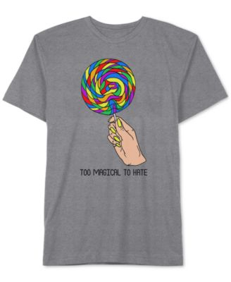 Lollipop Too Magical To Hate Men's T-Shirt by Jem
