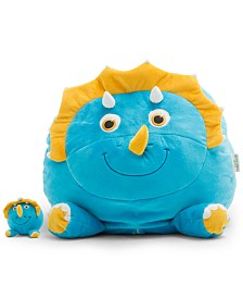 Big Joe Sarah the Triceratops Bean Bag, Quick Ship