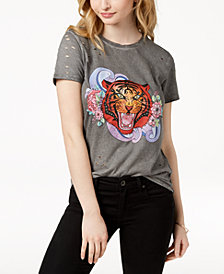 GUESS Ripped Graphic T-Shirt