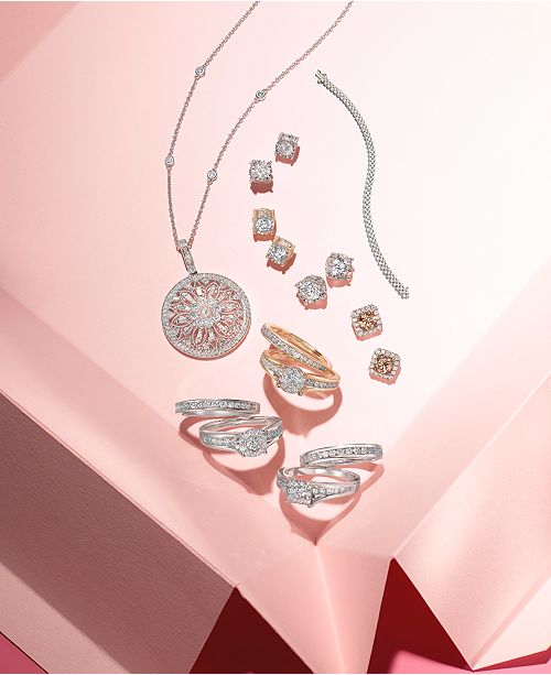Effy Collection Effy 174 Diamond Filigree Pendant 18