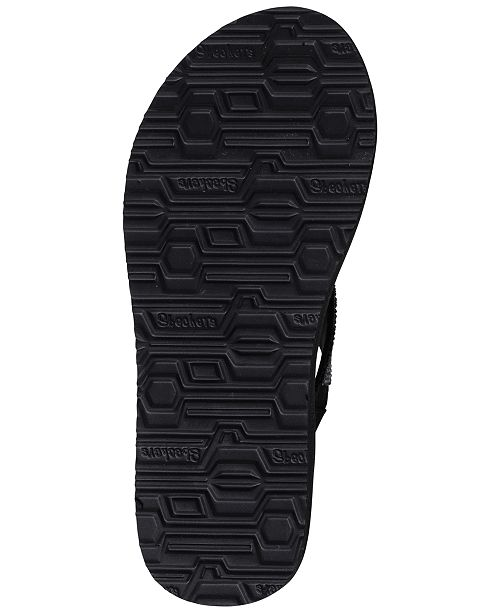 fa1e6db59fba Skechers Women s Meditation - Rock Crown Flip-Flop Thong Sandals from  Finish ...