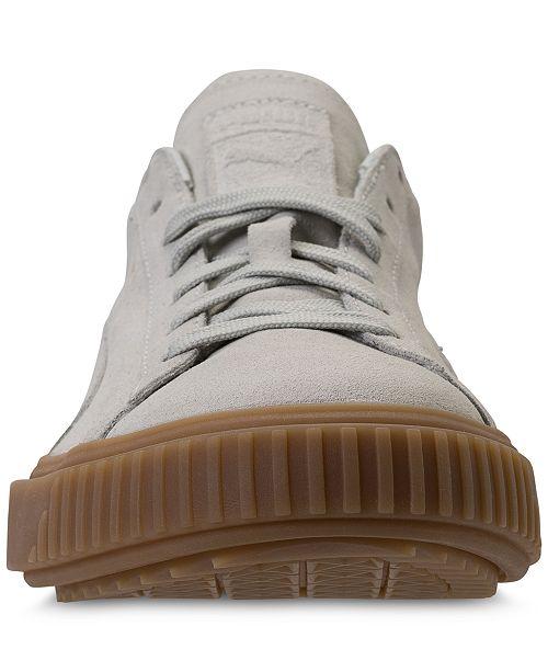 5409a1798e01 Puma Men s Breaker Suede Gum Casual Sneakers from Finish Line ...