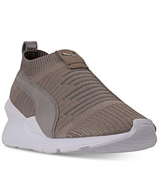 Puma Women's Muse Slip-On Casual Sneakers from Finish Line