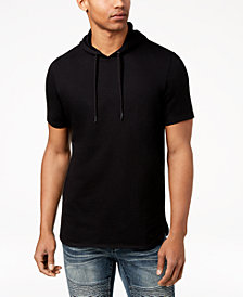 I.N.C. Men's Remix Short-Sleeve Hoodie, Created for Macy's