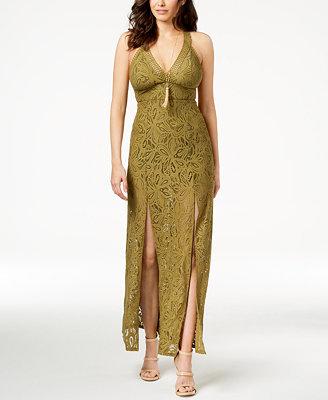 Lelani Lace Maxi Dress by Guess