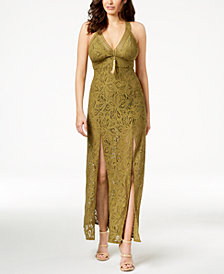 GUESS Lelani Lace Maxi Dress