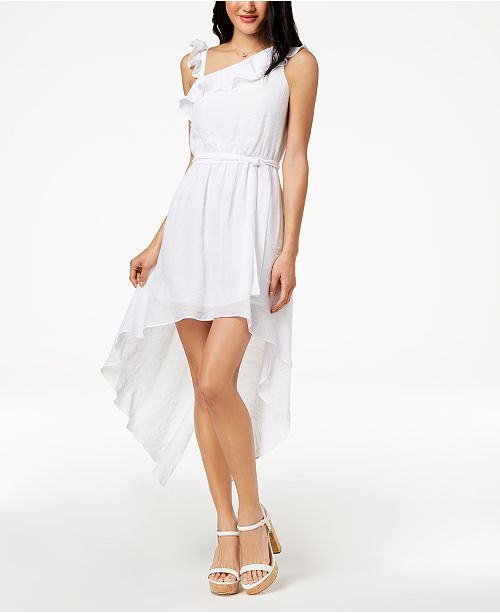 c6f517fd3a953 ... The Edit By Seventeen Juniors' One-Shoulder Dress, Created for Macy's  ...
