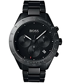 BOSS Hugo Boss Men's Chronograph Talent Black Ceramic Bracelet Watch 42mm