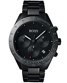 BOSS Hugo Boss Men's Chronograph Talent Black Ceramic Bracelet Watch 42mm