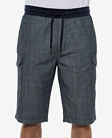 Sean John Men's Classic-Fit Drawstring Cargo Shorts, Created for Macy's