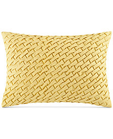 "Harbor House Miramar Faux-Linen Basketweave 14"" x 20"" Oblong Decorative Pillow"