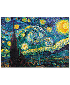 "Vincent van Gogh 'Starry Night' 35"" x 47"" Canvas Wall Art"