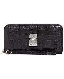 GUESS Britta Large Zip Around Wallet
