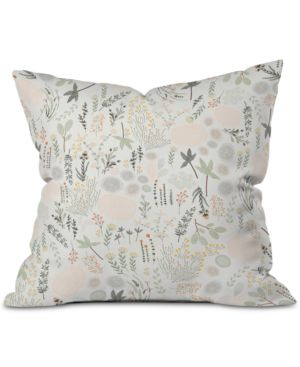 DENY DESIGNS | Deny Designs Floral Goodness Outdoor Throw Pillow | Goxip