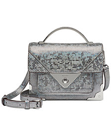 DKNY Mini Jaxone Hologram Top-Handle Crossbody, Created for Macy's