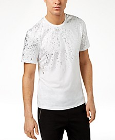 INC Men's Gold-Foil T-Shirt, Created for Macy's