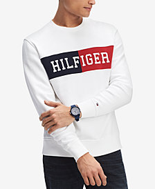 Tommy Hilfiger Men's Logo Sweatshirt, Created for Macy's