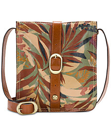 Patricia Nash Palm Leaves Venezia Crossbody