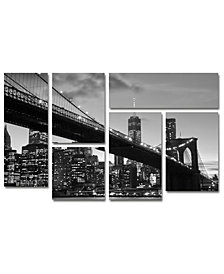 CATeyes 'Brooklyn Bridge 5' Multi-Panel Wall Art Set