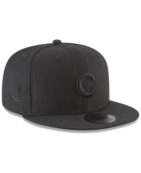 New Era Chicago Cubs Blackout Ultimate Patch Collection 59FIFTY Fitted Cap