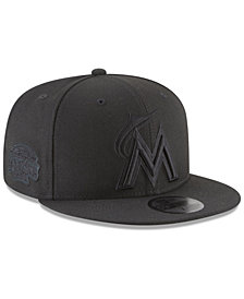 New Era Miami Marlins Blackout Ultimate Patch Collection 59FIFTY Fitted Cap
