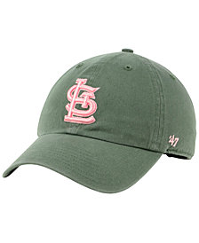'47 Brand St. Louis Cardinals Moss Pink CLEAN UP Cap