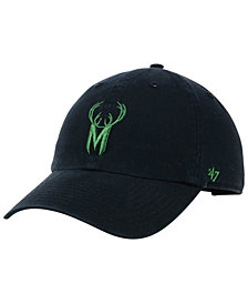 '47 Brand Milwaukee Bucks Mash Up CLEAN UP Cap