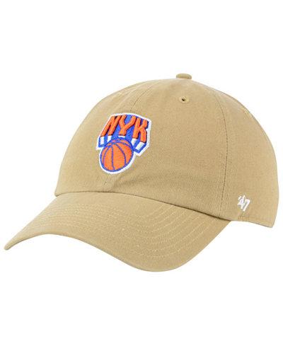 '47 Brand New York Knicks Mash Up CLEAN UP Cap